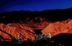 U2 vivono Fotografie Stock Libere da Diritti