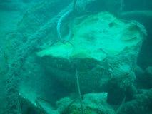 U wraku łódkowaty pikowanie w Irlandia obrazy stock