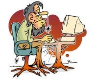 użytkownik komputerowy ilustracji