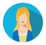 Użytkownik szyldowa ikona Osoba symbol Ludzki avatar Fotografia Stock