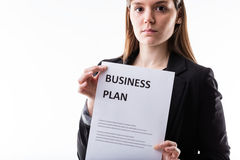 U zou uw zaken zorgvuldig moeten plannen Royalty-vrije Stock Afbeeldingen