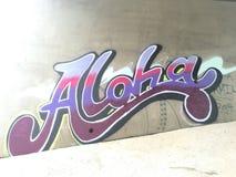 U zult me altijd in Aloha hebben Stock Foto's