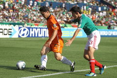 U17 MEX-NED Stock Photos