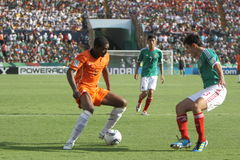 U17 MEX-NED Royalty Free Stock Photos