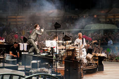 U2 γύρος 360° - ζήστε στο Τορίνο στοκ φωτογραφία με δικαίωμα ελεύθερης χρήσης