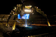 U2 360° Tour - Live at Turin Royalty Free Stock Image