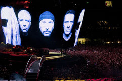 U2 360° Tour - Live at Turin Stock Photo