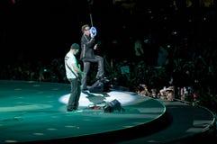 U2 360° Tour - Live at Turin Stock Photos