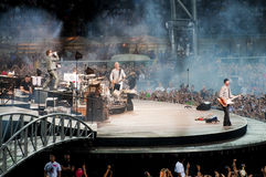 U2 360° Tour - Live at Turin Stock Photography