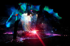 U2 360° Tour - Live at Turin Stock Photo