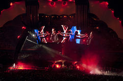 U2 360 Show in Brazil Royalty Free Stock Photo