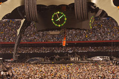 U2 360 Show in São Paulo Royalty Free Stock Images