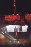 U2 360 toon in Brazilië Royalty-vrije Stock Afbeelding
