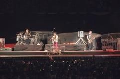 U2 360 toon in São Paulo Stock Foto's
