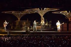 U2 360 toon in São Paulo Royalty-vrije Stock Afbeeldingen