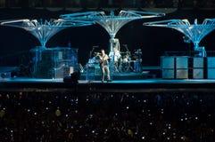 U2 360 toon in São Paulo Stock Afbeeldingen
