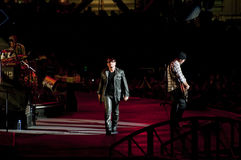 U2 360° Tour - Live at Turin Royalty Free Stock Photo