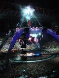 U2 concert in Milan Royalty Free Stock Images