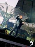 U2 levend in Berlijn 2009 Stock Afbeelding