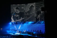 U2 music concert Royalty Free Stock Photos