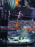 U2 overleg in Milaan Stock Fotografie