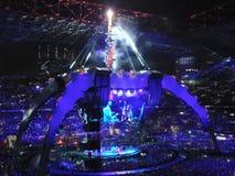 U2 overleg in Milaan Royalty-vrije Stock Afbeeldingen