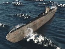 U99-German Submarine Stock Photos