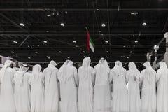 UAE święta państwowego świętowanie fotografia stock