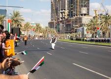 UAE święta państwowego parada Fotografia Royalty Free
