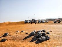 UAE Desert. Photo in the desert of uae during a safari royalty free stock photo
