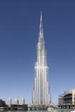 UAE. Dubai. Burj Khalifa. Vertical photo of the tallest building in the world - Burj Khalifa. Dubai. United Arab Emirates stock photos