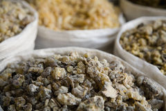 UAE Dubai frankincense and other spices for sale in the spice souq in Deira Stock Photos