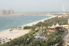 UAE. Dubai. Jumeira beach Royalty Free Stock Image