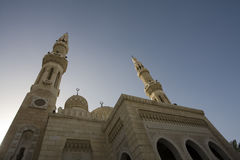 UAE Dubai The Jumeirah Mosque the only mosque which non-Muslims are permitted to visit. Stock Images