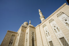 UAE Dubai The Jumeirah Mosque the only mosque which non-Muslims are permitted to visit Royalty Free Stock Photos