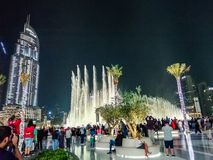 Dubai Bursh Halifa tallest building stock photo