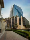 UAE Dubai buildings and streets royalty free stock photo
