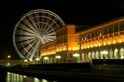 UAE eye. The biggest Ferris wheel in medel-east (UAE)and the 2nd biggest in the world with 42 capenets Stock Image