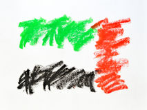 UAE flag scribble Royalty Free Stock Photo