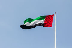 UAE flag Royalty Free Stock Image