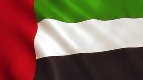 UAE Flag - United Arab Emirates. United Arab Emirates flag UAE national colors stock photography