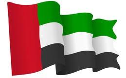 UAE Flag  Vector Illustration Stock Photos