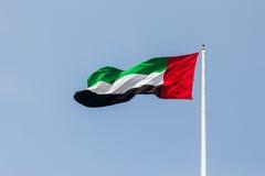 UAE-flagga Royaltyfri Bild