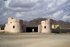 UAE Fort Royalty Free Stock Images