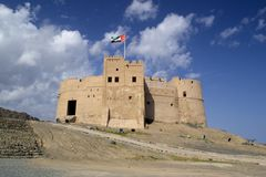 UAE Fort Royalty Free Stock Photography