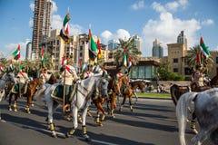 UAE National Day parade Stock Images
