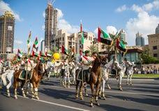 UAE National Day parade Royalty Free Stock Photo