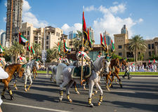 UAE National Day parade Royalty Free Stock Photography