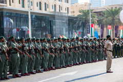 UAE National Day parade Stock Images