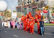 Uae-Nationaltagparade stockbild